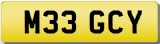 MEG MEGSY Private Cherished Registration Number Plate MEG MEGAN MEGHAN